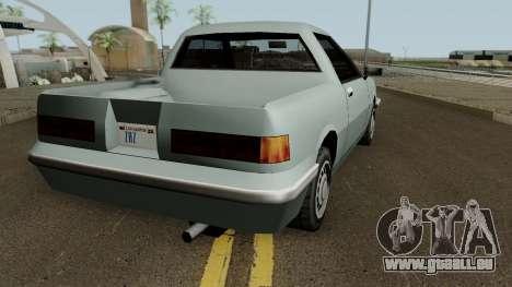Manana Pickup für GTA San Andreas rechten Ansicht