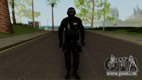 TEK Skin 2 pour GTA San Andreas deuxième écran