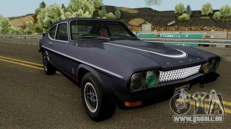 Ford Capri RS 3100 1973 pour GTA San Andreas vue intérieure