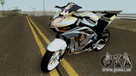 Yamaha R25 Mitsumine Itasha pour GTA San Andreas