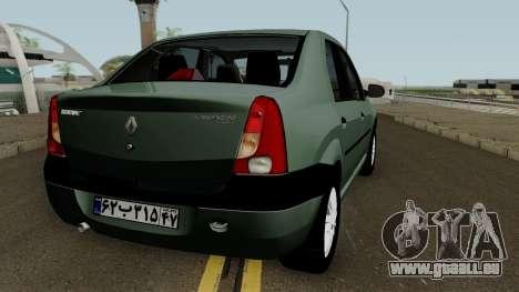 Renault Tondar 90 (Iranian) für GTA San Andreas rechten Ansicht