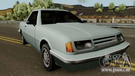 Manana Pickup für GTA San Andreas Innenansicht