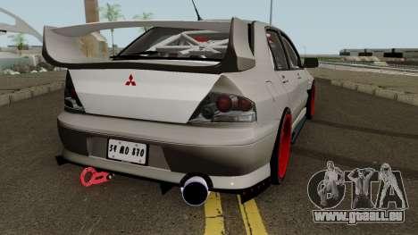 Mitsubishi Evo (DRIFT TUNING) für GTA San Andreas rechten Ansicht