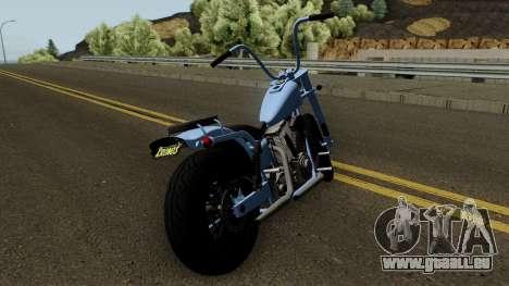 Western Motorcycle Daemon GTA V pour GTA San Andreas