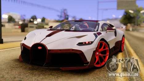 Bugatti Divo pour GTA San Andreas