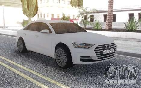 Audi A8 2018 für GTA San Andreas