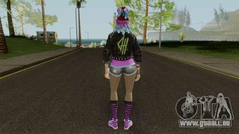 Fortnite Female Garage Band pour GTA San Andreas