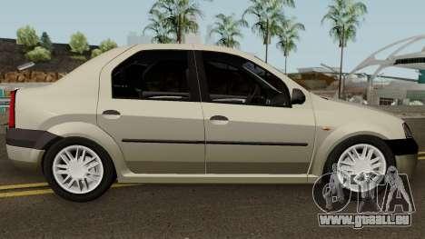 Dacia L90 Iranian pour GTA San Andreas vue arrière