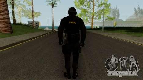 TEK Skin 2 pour GTA San Andreas troisième écran