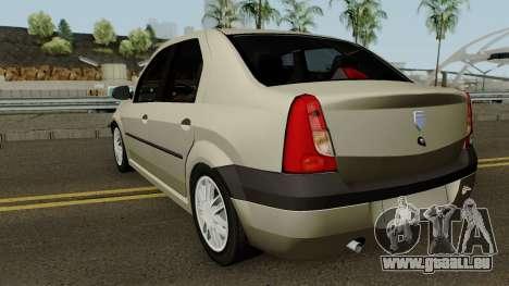 Dacia L90 Iranian pour GTA San Andreas sur la vue arrière gauche