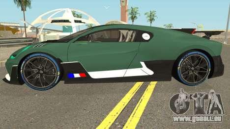 Bugatti Divo 2019 für GTA San Andreas