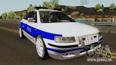 IKCO Samand Police LX v3 für GTA San Andreas Innenansicht