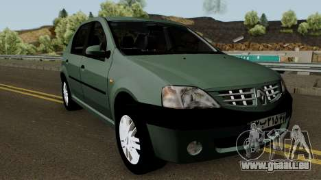 Renault Tondar 90 (Iranian) für GTA San Andreas Innenansicht