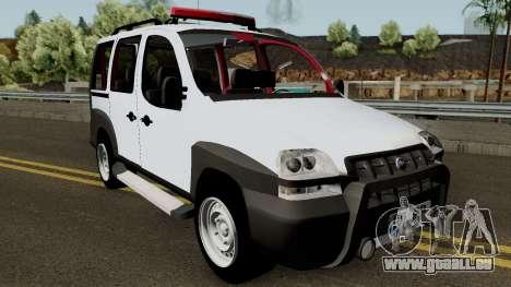 Fiat Doblo 2005 für GTA San Andreas Innenansicht