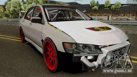 Mitsubishi Evo (DRIFT TUNING) für GTA San Andreas Innenansicht