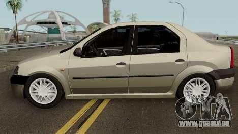 Dacia L90 Iranian pour GTA San Andreas laissé vue
