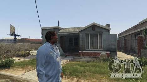 GTA 5 Cj Pensioner (Monday) 1.0 deuxième capture d'écran