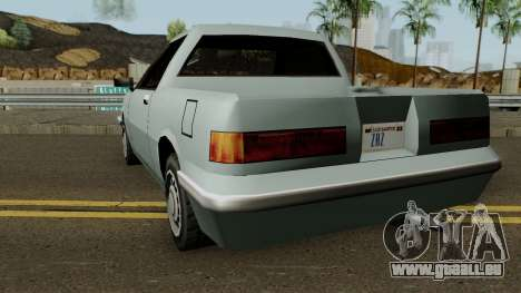 Manana Pickup für GTA San Andreas zurück linke Ansicht