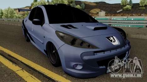 Peugeot 207 Sandogdar - Full Sport Iran für GTA San Andreas