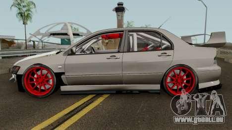 Mitsubishi Evo (DRIFT TUNING) für GTA San Andreas linke Ansicht