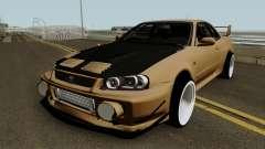 Deuces Nissan Skyline Evolution GT-R 34 pour GTA San Andreas