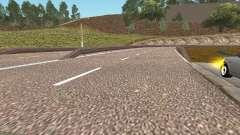 HD Road GTA Pénale de la Russie pour GTA San Andreas