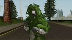 Skin Random 104 (Outfit Army With Ghiliesuit) pour GTA San Andreas
