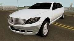 Mercedes Benz E-Class W212 Limousine 2012 v1.2 pour GTA San Andreas