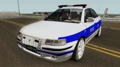 IKCO Samand Police LX v3 pour GTA San Andreas
