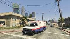 Spawn Emergency Vehicles Menu 0.4 Beta pour GTA 5