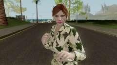 GTAO Xmas Female Skin pour GTA San Andreas