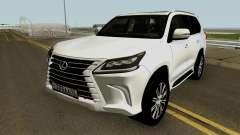 Lexus LX 570 HQ für GTA San Andreas