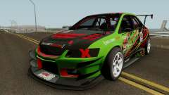 Mitsubishi Lancer Evolution IX OZ Drift V2 2006