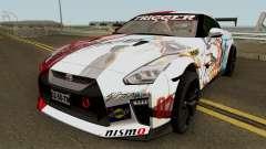 Nissan GT-R Premium R35 17 Itasha pour GTA San Andreas