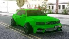 Nissan Cedric WideBody Green für GTA San Andreas