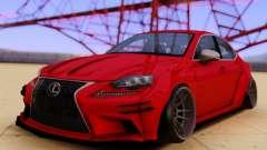 Lexus IS350 für GTA San Andreas