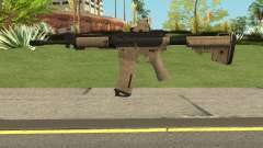 Battle Carnival M4A1 für GTA San Andreas
