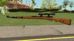 Karabiner 98K Sniper Rifle V2 pour GTA San Andreas