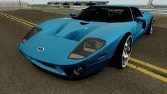 Ford GT 2005 HQ für GTA San Andreas