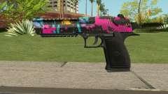 Neon Destroyer Deagle für GTA San Andreas