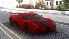 Koenigsegg Agera R Red pour GTA San Andreas
