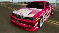 Toyota Cresta JXZ100 Neko Musume Itasha pour GTA San Andreas