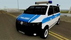 Volkswagen T5 German Police