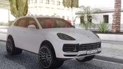 Porsche Cayenne Turbo White für GTA San Andreas