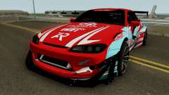 Nissan Silvia S15 Rocket Bunny BSI Drift Team