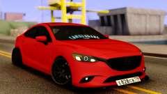 Mazda 6 Red Sport pour GTA San Andreas