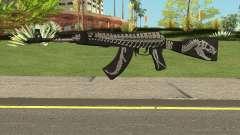 Battle Carnival AKM SKIN 2 pour GTA San Andreas