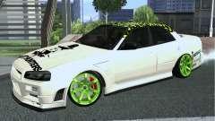 Nissan Skyline ER34 Custom für GTA San Andreas