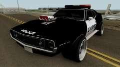 AMC Javelin AMX 401 Police LVPD 1971 V2 pour GTA San Andreas
