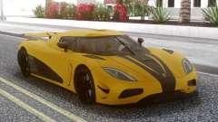 Koenigsegg Agera R Yellow pour GTA San Andreas